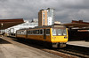 142 048 at Salford Central on 31st March 2008 working to Kirkby
