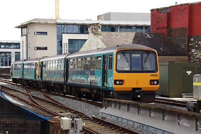 143 616 at Cardiff Central on 15th September 2017