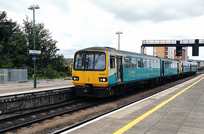 143601 at Cardiff Central on 15th September 2017