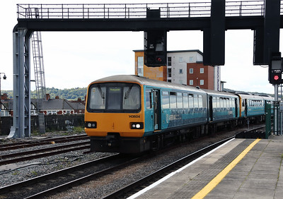 143 604 at Cardiff Central on 15th September 2017