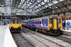 150 112 & 156 486 at Liverpool Lime Street on 19th April 2014
