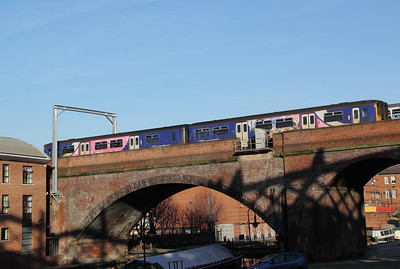 150 2xx at Castlefield (Manchester) on 16th January 2012