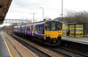 150 103 at St Helens Junction on 15th January 2014 working 1F96