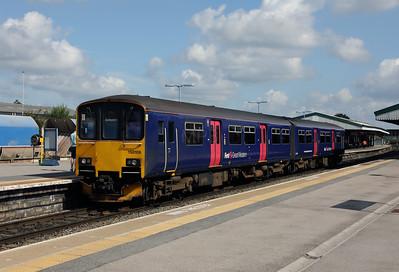 150106 at Westbury on 1st September 2017