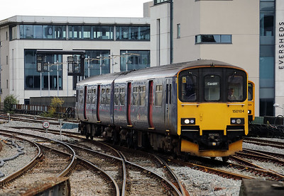 1) 150 104 at Cardiff Central on 15th September 2017