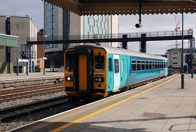 153 312 at Cardiff Central on 15th September 2017