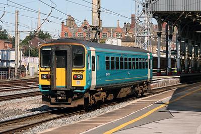 153 331 at Preston on 22nd August 2007 (2)