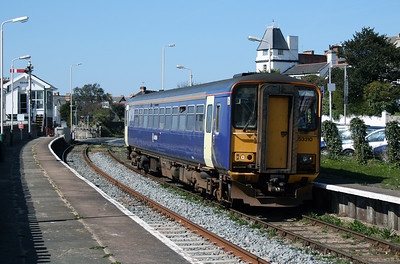 153 310 at Deganwy on 7th April 2007 (1)