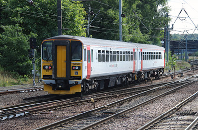 153 309 at Norwich on 9th August 2016