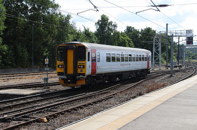 2) 153306 at Norwich on 9th August 2016