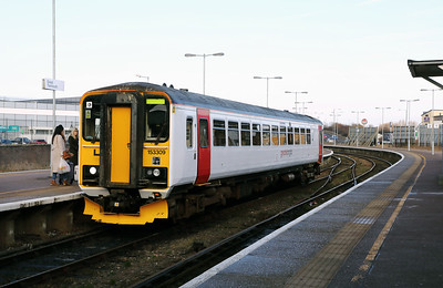 153 309 at Great Yarmouth on 17th February 2017