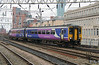 156 455 at Manchester Oxford Road on 23rd January 2015