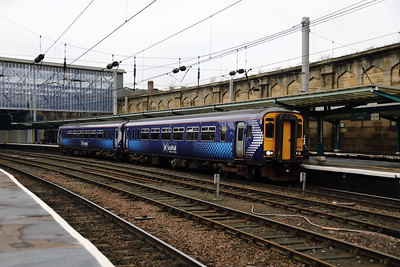 156 478 at Carlisle on 22nd January 2018