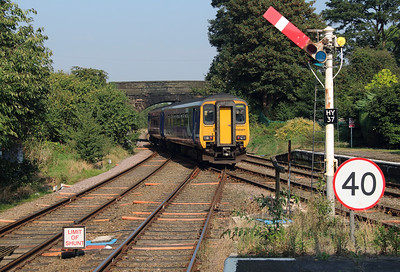 1) 156 491 at Helsby on 14th September 2016