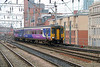 156 420 at Manchester Oxford Road on 23rd January 2015 (2)