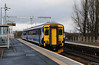 156 442 at West Calder on 18th April 2018 (2)