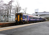 156 456 at West Calder on 18th April 2018 (2)