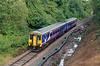 3) 156 468 on Halton Branch between Frodsham Jn and Halton Jn on 5th September 2015 working 2F80 0753 Chester to Runcorn. Last booked passenger service of 2015