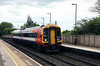 158 885 at Tamworth High Level on 12th June 2017