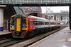 158 785 at Manchester Oxford Road on 23rd January 2015