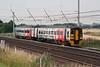 158 842 at Winwick Junction on 21st July 2006, 1D39 1516 Man Picc - Llandudno