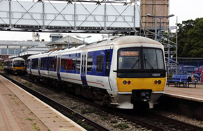 165012 at Aylesbury on 16th September 2017