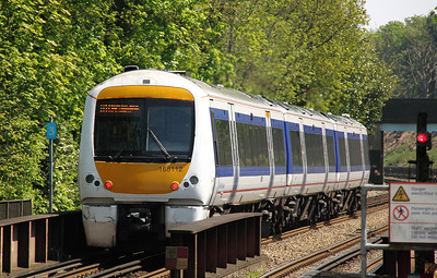 2) 168 112 at Chalfont & Latimer on 22nd May 2012 working 2C35 1230 Aylesbury Vale Parkway to London Marylebone