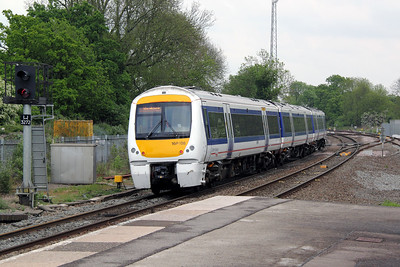 2) 168 108 at Hatton on 7th May 2011 working 1H41 1255 Birmingham Moor Street to London Marlebone