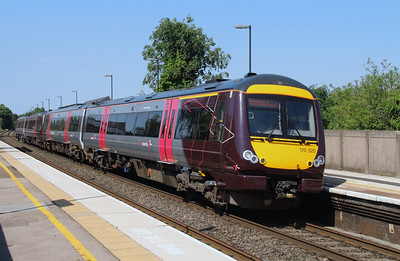 170 520 at Tamworth High Level on 19th July 2016