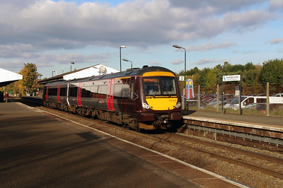 170 522 at Stourbridge Junction on 2nd November 2016