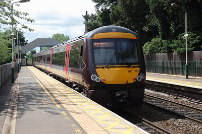 170 106 at Beeston on 2nd July 2016