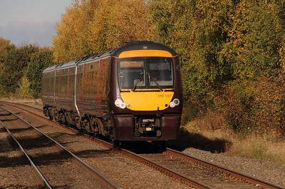 1) 170 107 at Hartlebury on 2nd November 2016