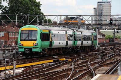 171 723 at London Bridge on 25th June 2013