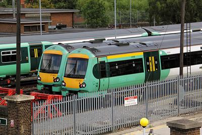 171 802 at Selhurst Depot on 18th August 2010