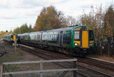 172 216 at Stourbridge Junction on 2nd November 2016
