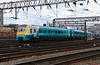 175 107 at Manchester Piccadilly on 3rd August 2014 working 1V12 (1)