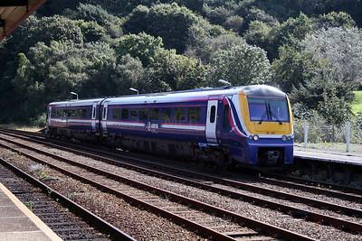 175 001 at Bangor on 4th September 2007 (5)