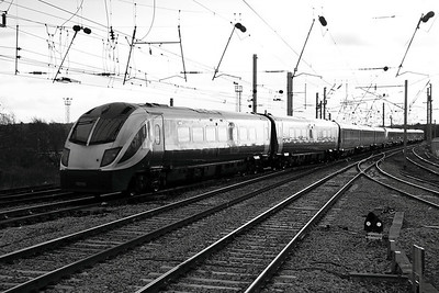 1) 180 106 at Warrington Bank Quay on 14th December 2011 working 5Z80 1204 Newton Heath Depot to old Oak Common depot