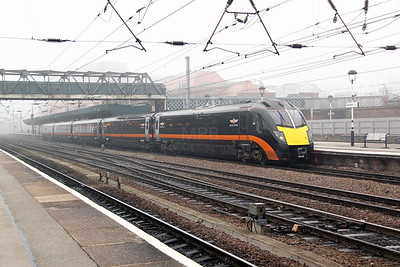 1) 180 105 at Doncaster on 16th March 2011 working 1A73 1022 Bradford Interchange to London Kings Cross