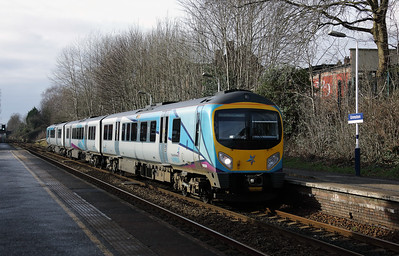 185 134 at Urmston on 30th January 2018