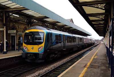 185 110 at Warrington Central on 30th January 2018