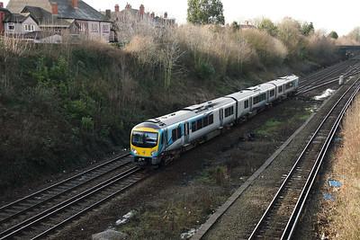 185 121 at Hunts Cross on 30th January 2018