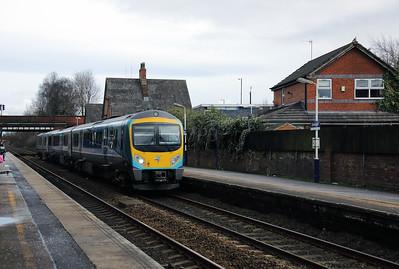 185 110 at Urmston on 30th January 2018