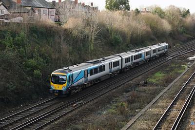 185 134 at Hunts Cross on 30th January 2018