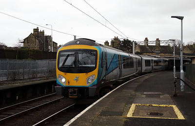 185 141 at Carnforth on 22nd January 2018