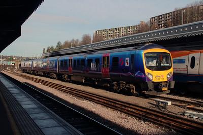 185 111 at Sheffield on 12th November 2015
