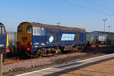 2) 20 301 at York on 20th April 2013