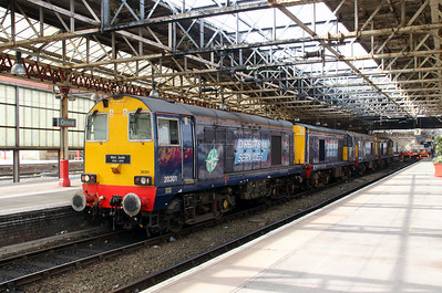 2) 20 301 at Crewe on 1st May 2013