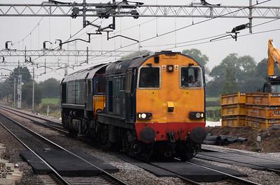 20 312 at Acton Bridge on 3rd October 2007