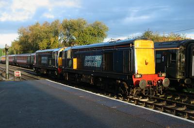 20 301 at Barrow Hill on 23rd October 2016